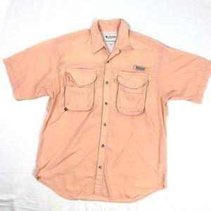 Columbia PFG Vented Shirt Short Sleeve Fishing